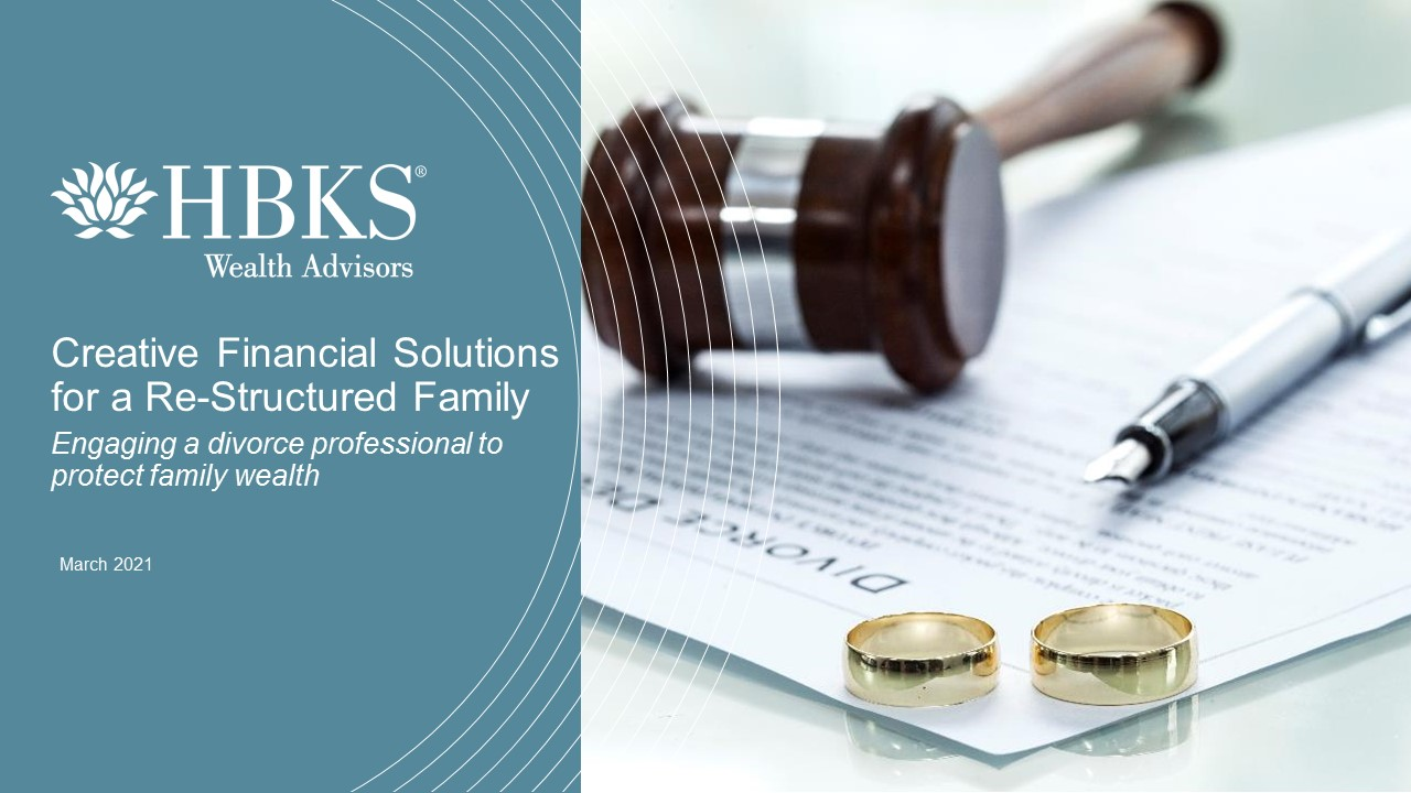 Financial Solutions for a Restructured Family